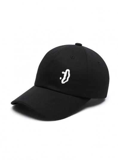 DXOH.[EXO Sehun, Twice Jeongyeon, Black Pink Jisoo wearing] Smile small logo cap black
