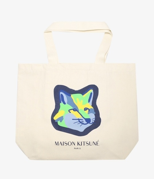 TOTE BAG NEON FOX HEAD (FU05121WW0008-EC)