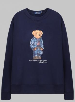 Jean jacket Bear Sweatshirt (710792903001)