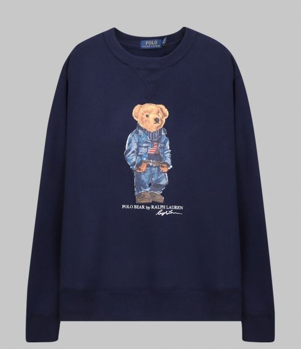 Jean jacket Bear Sweatshirt (710792903001)