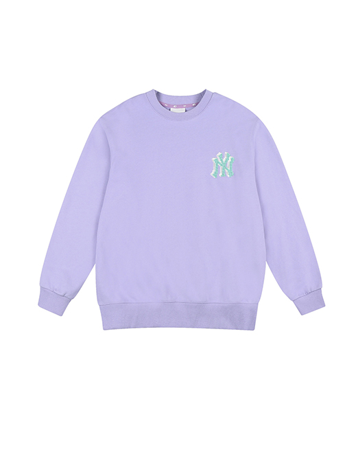 Play Pixel Logo Overfit Sweatshirt NY (31MTG2111-50V)