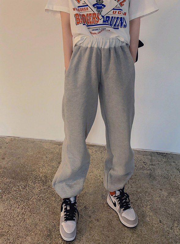 Rolling Raised Jogger Pants