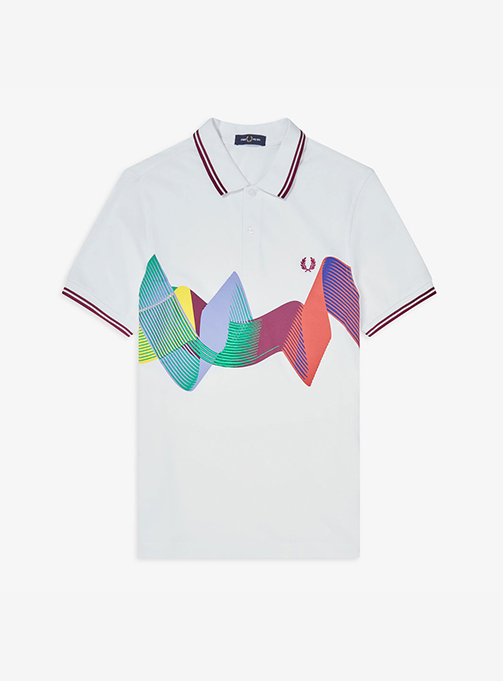 Abstract Sport Polo Shirt(100) AFPM2018632-100