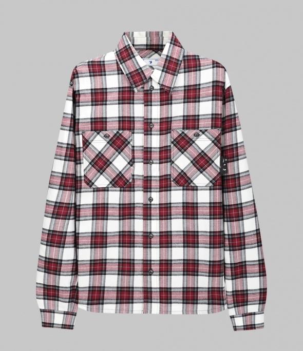 Check Shirt (OMGA133R21FAB0022500)