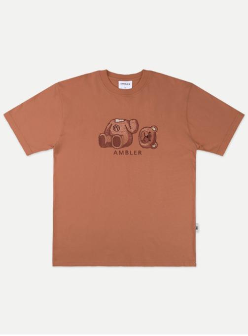Oops Bear T-shirt (AS801_BROWN)