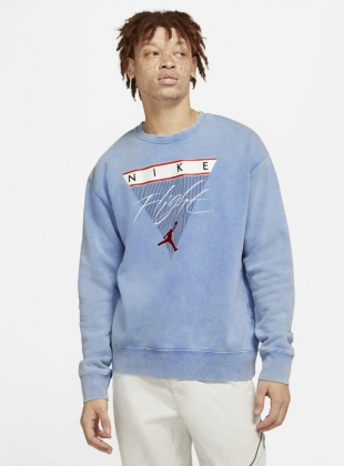 Jordan flight Graphic Sweatshirt (CW8401-403)