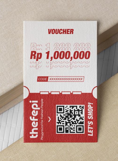 Rp 1,000,000 voucher
