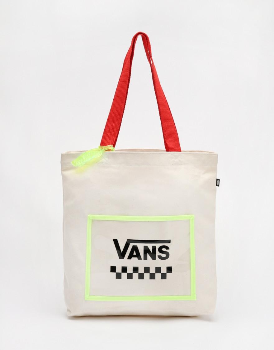 AP Neon Crush Tote Bag (VN0A4MMW7VJ-NATURAL)