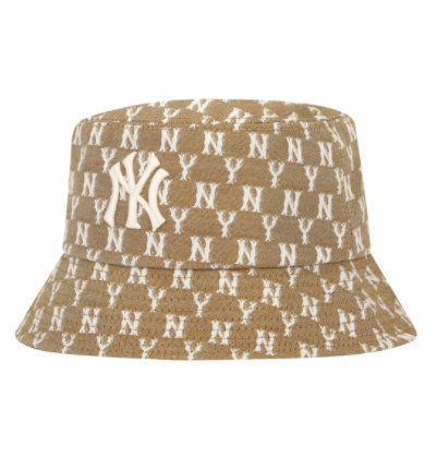 MLB. Monogram Jacquard Bucket Hat New York Yankees (32CPHV111-50B)