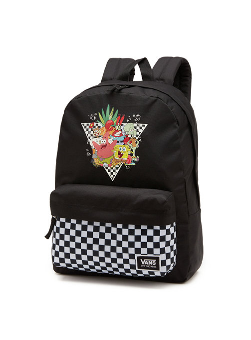 VANS X SPONGEBOB real backpack (VN0A5I3HYZS1)