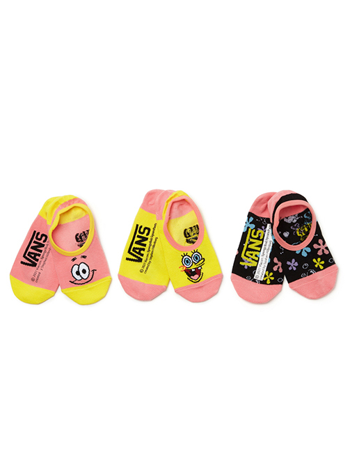 VANS X SPONGEBOB socks - 3 pack (VN0A5I3JYZ01)