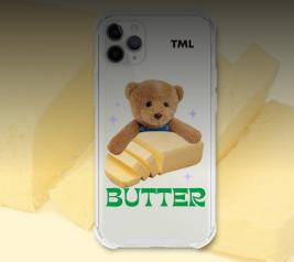 [TML] BUTTER BEAR Case ( Butter Bear / Transparent Gel Hard)