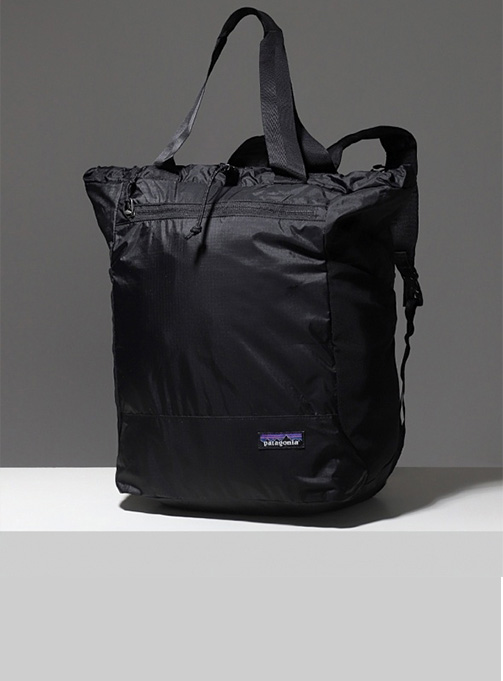 Ultralight Black Hole Tote Pack (48809-BLK)