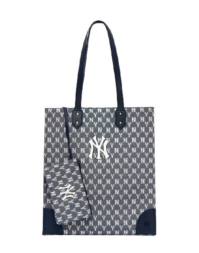 Monogram Jacard Shopper bag NY (3AORL031N-50NYS)