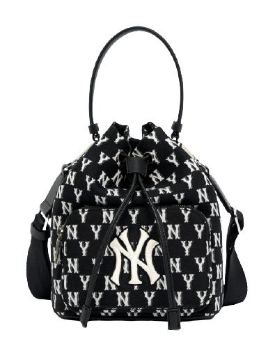 Monogram Jacard Bucket bag NY (3ABMS031N-50BKS)