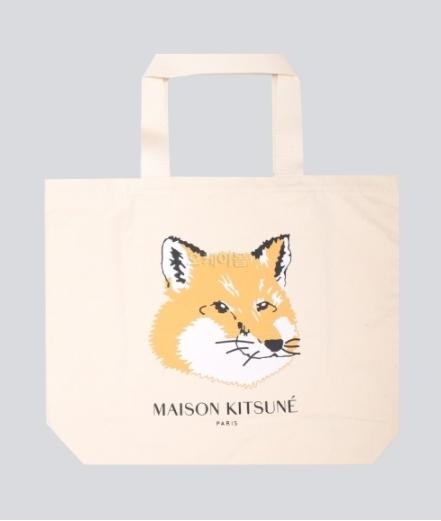 Maison Kitsune 20SS Tote Bag Fox Head (EU05110WW0008-EC/P700)