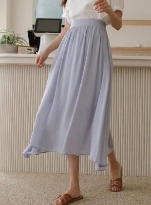Goddess Gauze Cotton Long Skirt