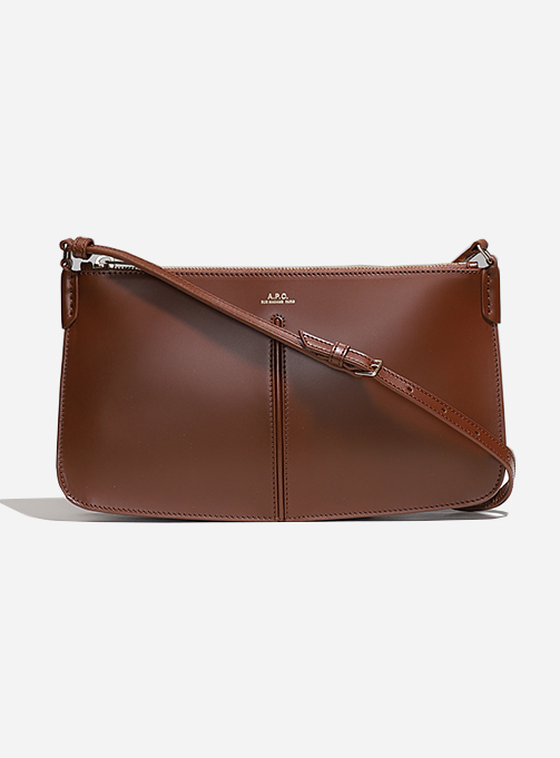 Betty Baguette Bag BROWN (PXAWV F61521 CAD)