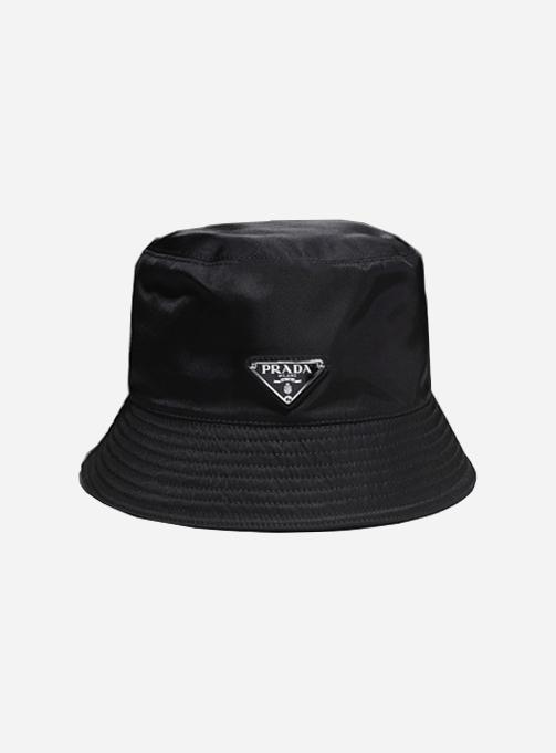 Re-nylon Triangle Logo Bucket Hat (2HC137 2DMI F0002)