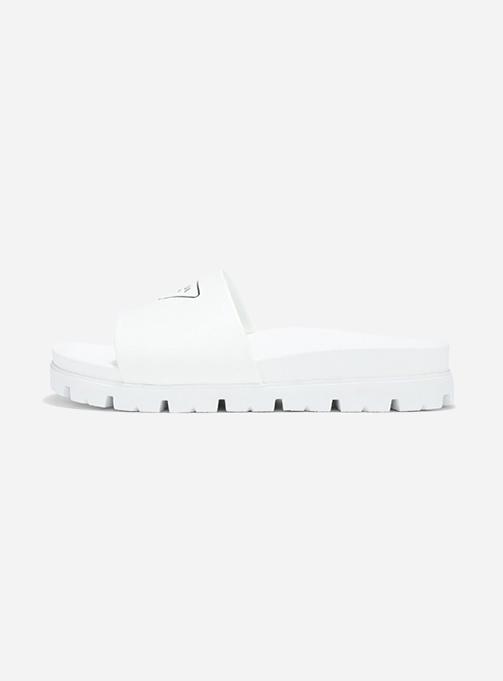 Leather Slide Sandal (2X3060 A21 F0009)