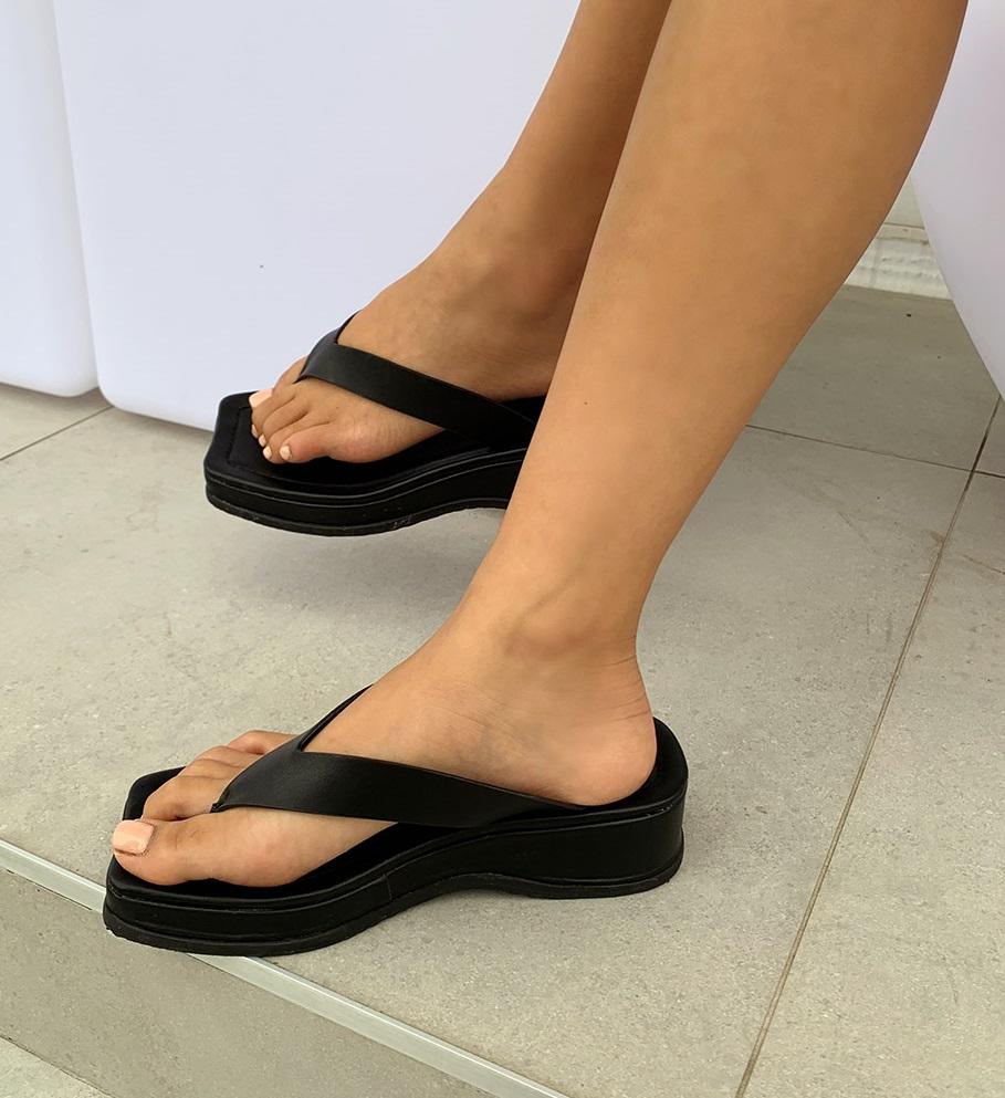 Bold Platform Slipper