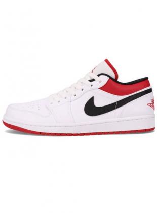 Air Jordan 1 low White / University Red