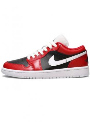 Air Jordan 1 Low Gym Red / White-Black