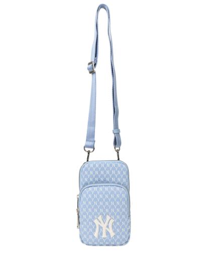 MLB Monogram Mini Crossbody Bag New York Yankees - 32BGDK111-50S