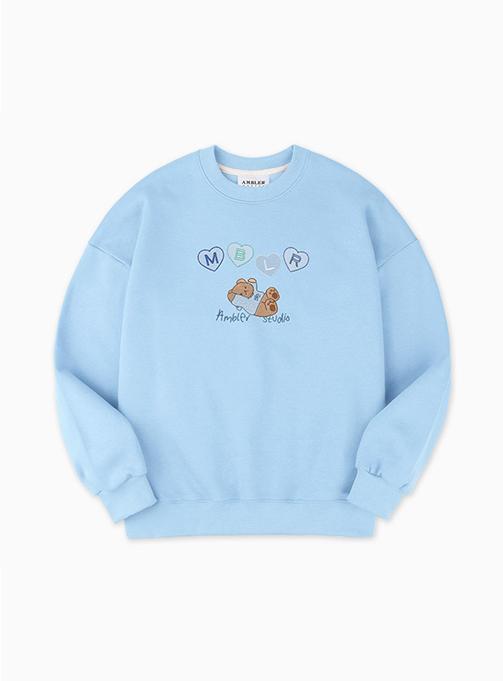 Plop Sweatshirt (AMM 911_ BLUE)