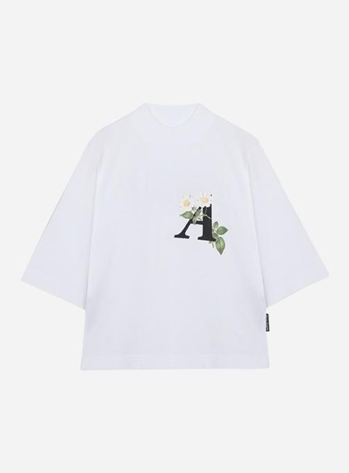 Daisy logo cropped T-shirt (PWAA020S21JER0060110)