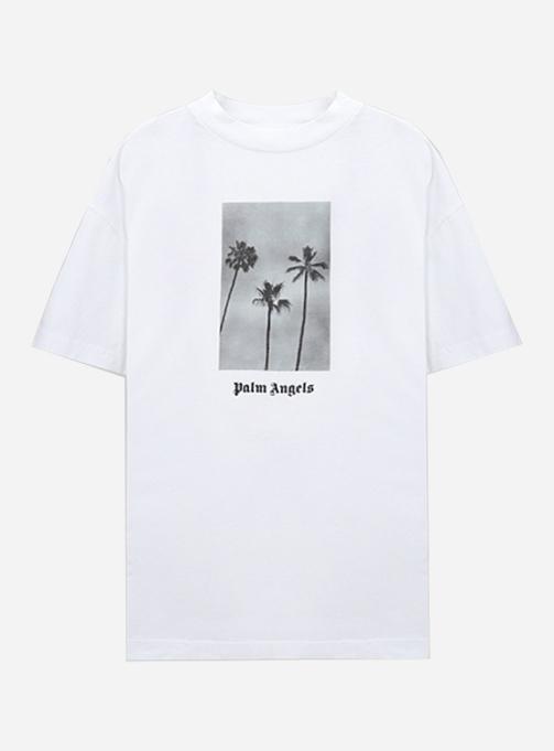 PALM TREES BOULEVARD T-SHIRT (PMAA001S21JER0060110)