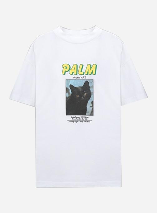 BLACK CAT TEE (PMAA001R21JER0070110)