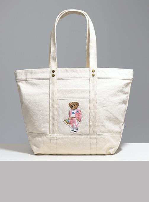 Bear Cotton Tote Bag (843781001)