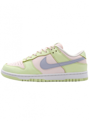 NIKE WMNS DUNK LOW LIME SOFT PINK