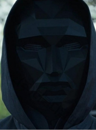 Squid Game Header Front Man mask (NO Slide type)