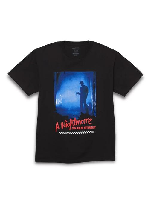 VANS X HOUSE OF TERROR a nightmare on Elm Street T (VN0A5433BLK1)