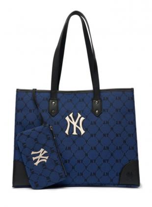 Monogram Dia Jacard tote bag NY (3AORL021N-50BLD)