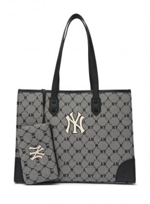 Monogram Dia Jacard tote bag NY (3AORL021N-50GRS)