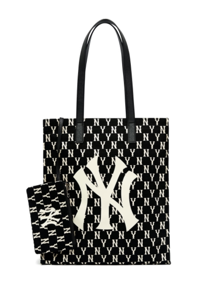 Monogram tote bag NY (3AORL011N-50BKS)