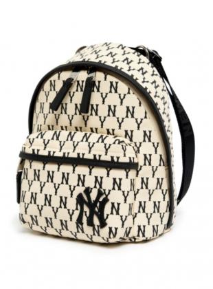 Monogram Mini Backpack NY (3ABKS061N-50IVS)