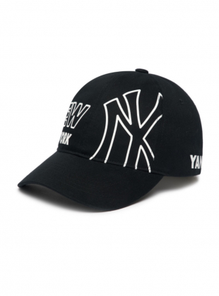 Surround Unstructure Ball Cap NY (3ACP0201N-50BKS)
