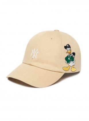 MLB x Disney Donald Duck Unstructure ball cap NY (3ACPD011N-50BGS)