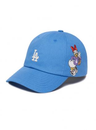 MLB x Disney Donald Duck Unstructure ball cap LA (3ACPD011N-07BLS)