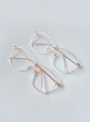 Lupiden Transparent Fashion Glasses