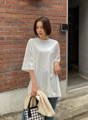 Coat or Soft Raised Long T-shirt