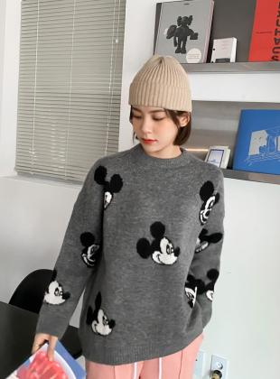 Raybin Mickey Round Wool Knit
