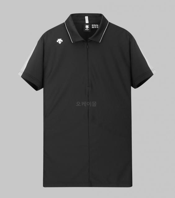 DESCENTE Man Short Sleeve Smooth Shirt (DGMPJA16-BK00)