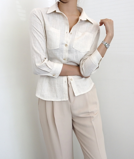 classic linen 7 Shirt