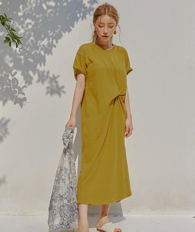 5 elon twist Dress