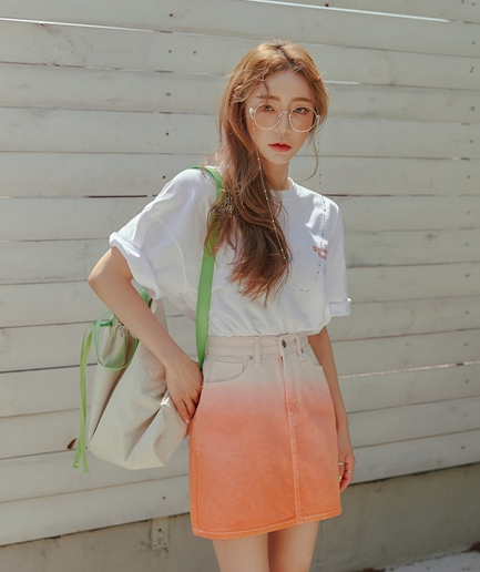 bady gradation Skirt